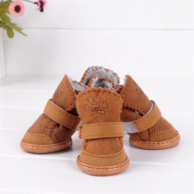 2017 New Fashion Dog Pet Cute Puppy Shoes Chihuahua Boots For Small Dog Size S-XXL