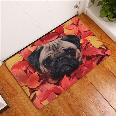 2017 New Floor Mats Famous Food Bago  Printed Bathroom Kitchen Carpets Doormats Cat Floor Mat for Living Room Anti-Slip Tapete