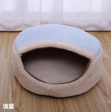 2017 New Pet Sleep Bed Soft Cat Dog House Puppy Suede Tent With Double Sided Cotton Cushion Mat Pet House Gift for Pet