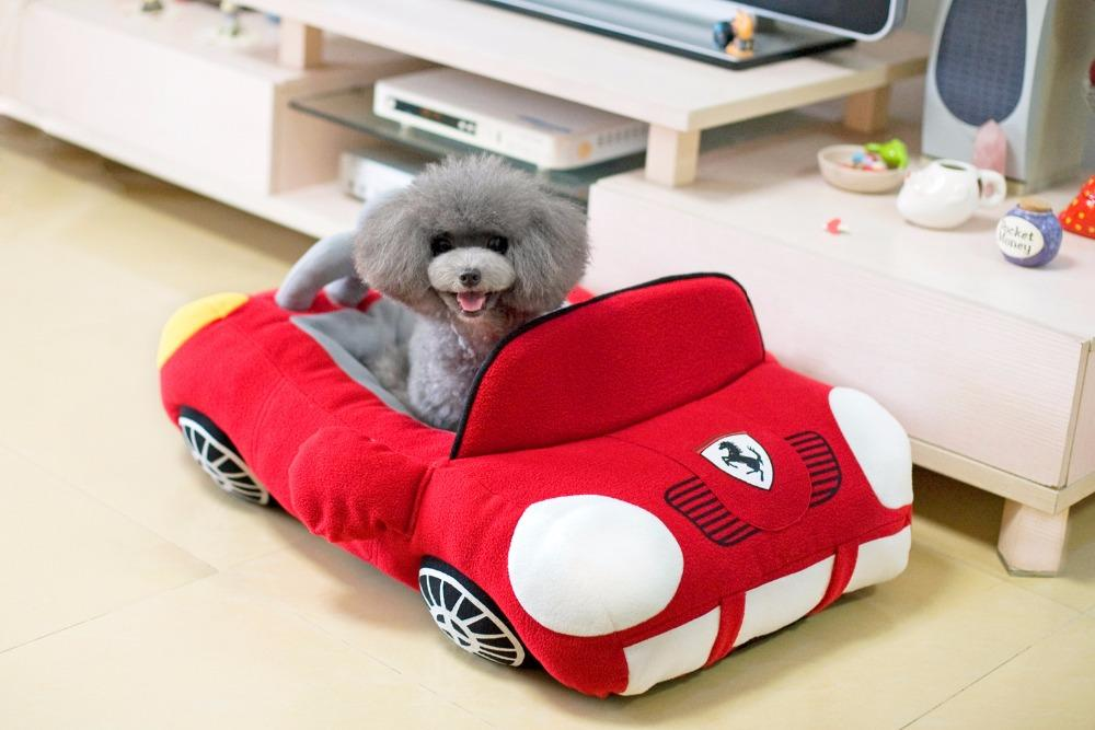 2017 new cool fashion pet dog cat car house doggy autumn winter kennels puppy warm soft bed dogs cats nest pet sofa