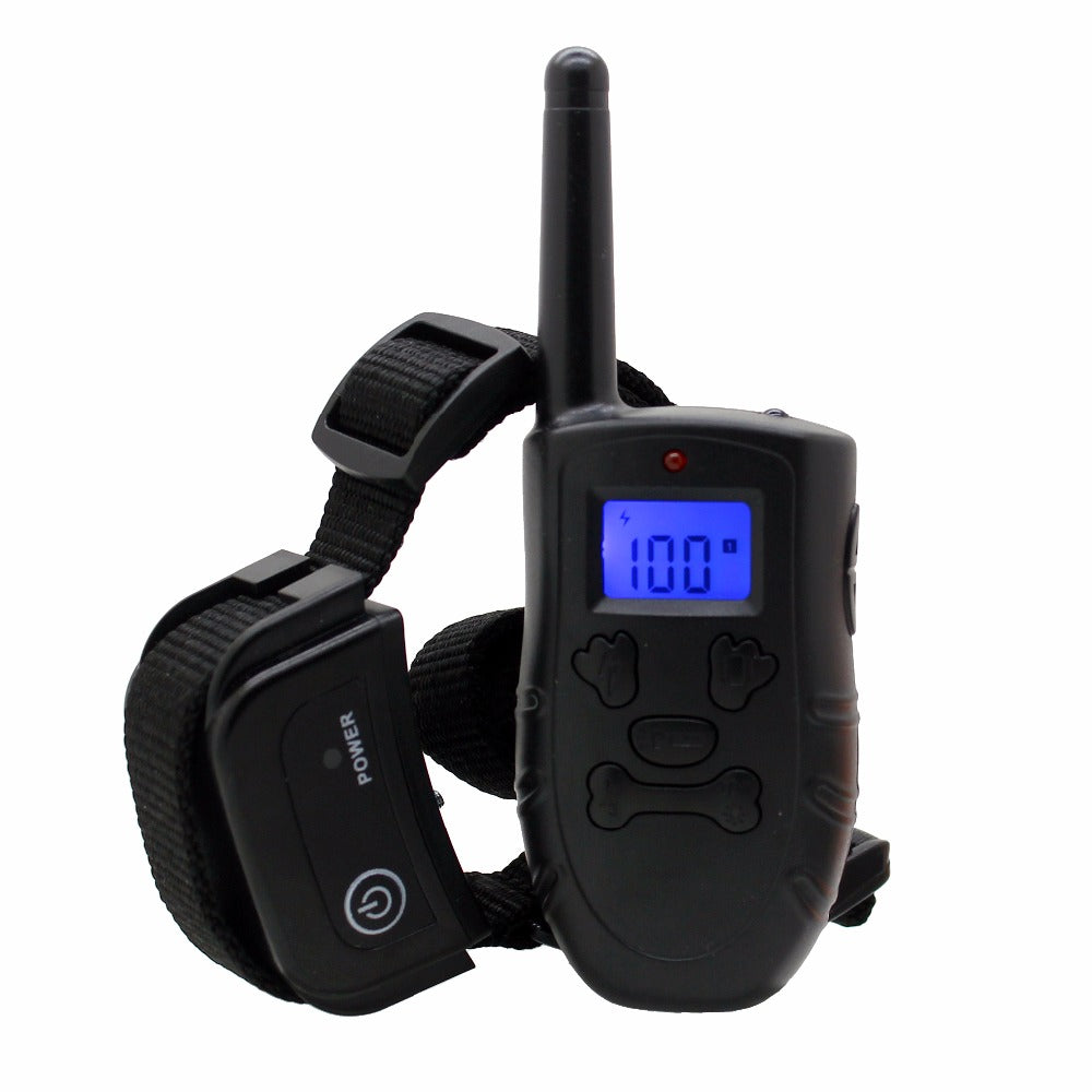 20Pcs/lot 300M Rechargeable and Waterproof Dog Training Collar with Backlight LCD Display H183DR  For 1 dog or 2 dogs