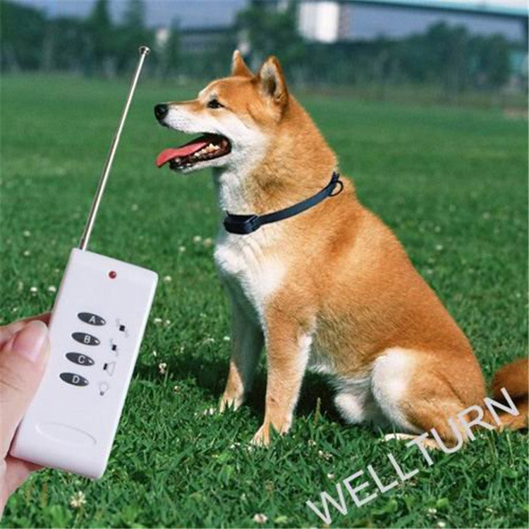 20pcs/lot* ELECTRONIC Dog Control Vibration Anti Bark Dog PET Training Collar Remote Control Sound A B C D ABCD