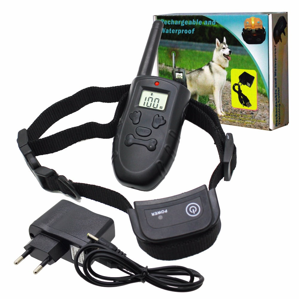 20pcs/lot  LCD REMOTE Electric DOGS OBEDIENCE TRAINING SHOCK COLLAR 998D and H183DR