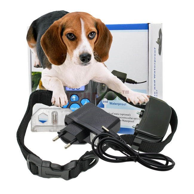 20pcs/lot Rechargeable and Waterproof 300 Meters Remote Pet Training Collar with LCD Display 998DR And H183DR
