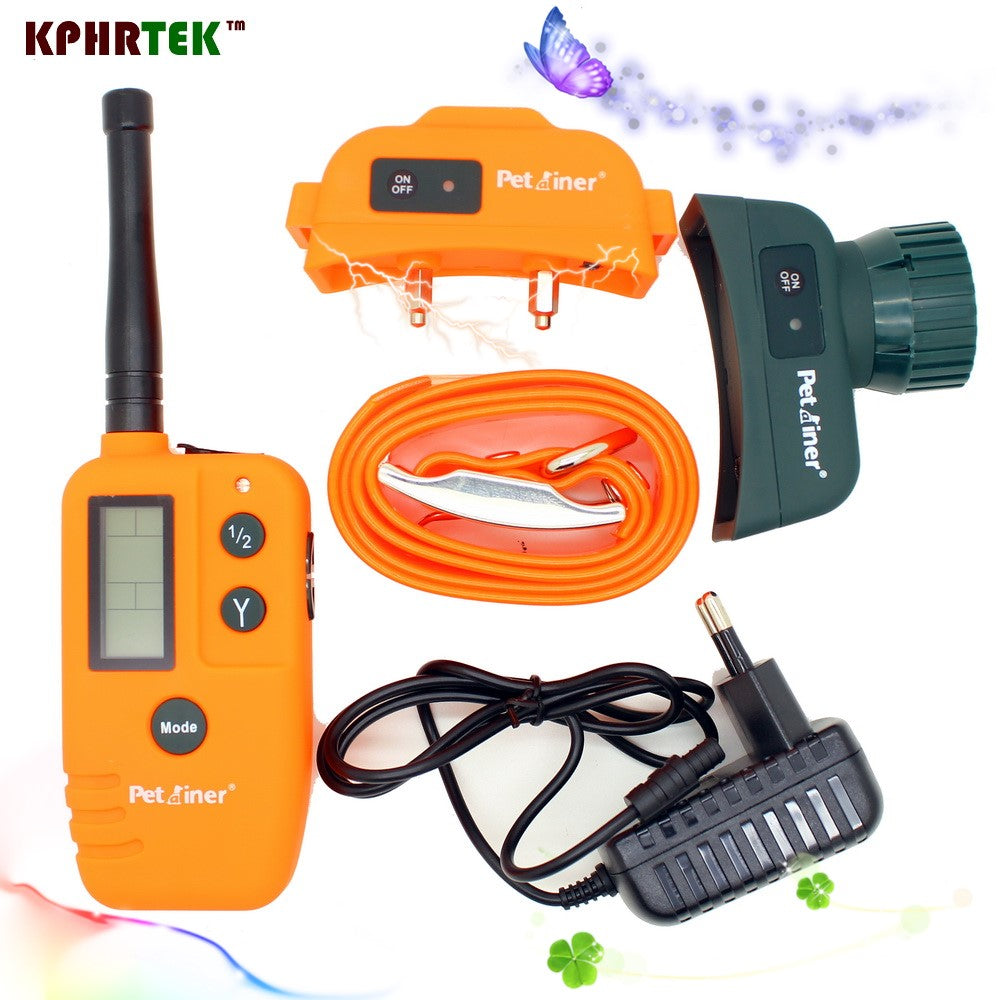 25pcs/lot New Vibrating training collar and Remote training and beeper dog shock collar KPHRTEK 910