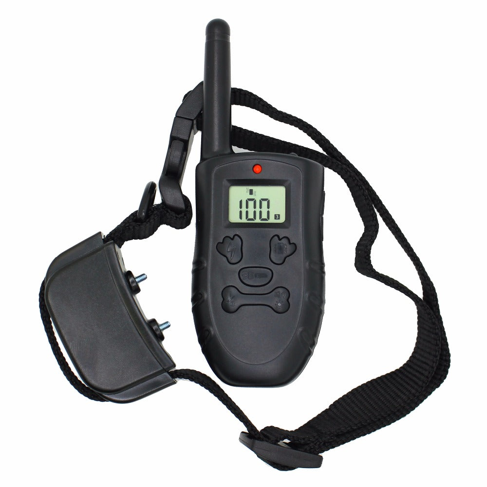 25sets/lot High Quality Remote Dog Training Shock Collar With Remote Control 100 Level Shock Vibration Beep H183DR