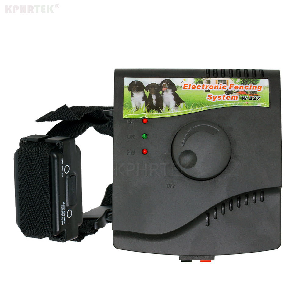 28pcs/lot  Rechargeable Dog Electronic Fence System W227B IN-Ground Wire and Waterproof Receiver Dog Training Collar