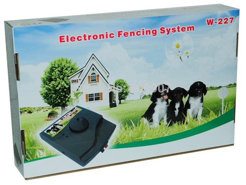 2dogs Underground Waterproof Pet Electric fence Shock Collar Electric Dog Pet Training Fence Fencing System Dog Trainer  Fence