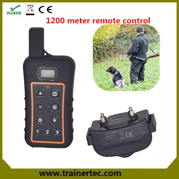 3/4 Mile Range Shock Vibration and Beep Modes Waterproof Electric E Training Collar