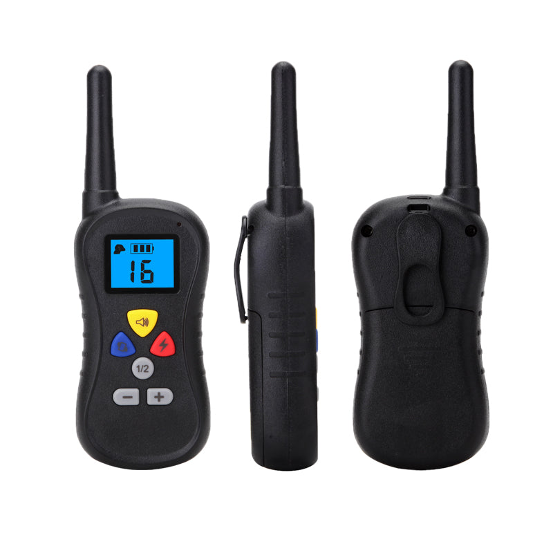 300 Meters Remote Control Dog Training Collar With LCD Display For 1 Dog M018B Deeipet