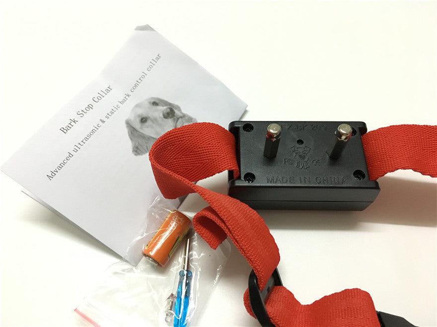 300set/lot* pet Voice control ELECTRONIC AUTO Small/Medium Anti No Bark Dog Training Shock Collar bark stop collar