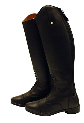 Horseware Short Riding Boot Zip Kids Brown 33 Eur