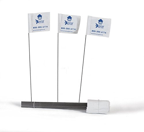 Electric Dog Fence Boundary Flags For Visual Aid During