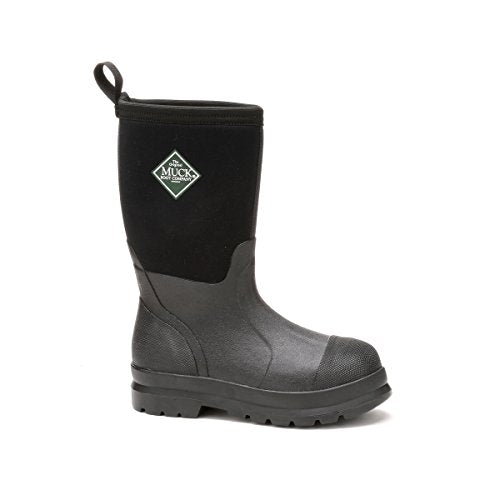 Muck Boot MuckBoots Kids' Chore Snow Boot, Black, 8 M US Toddler