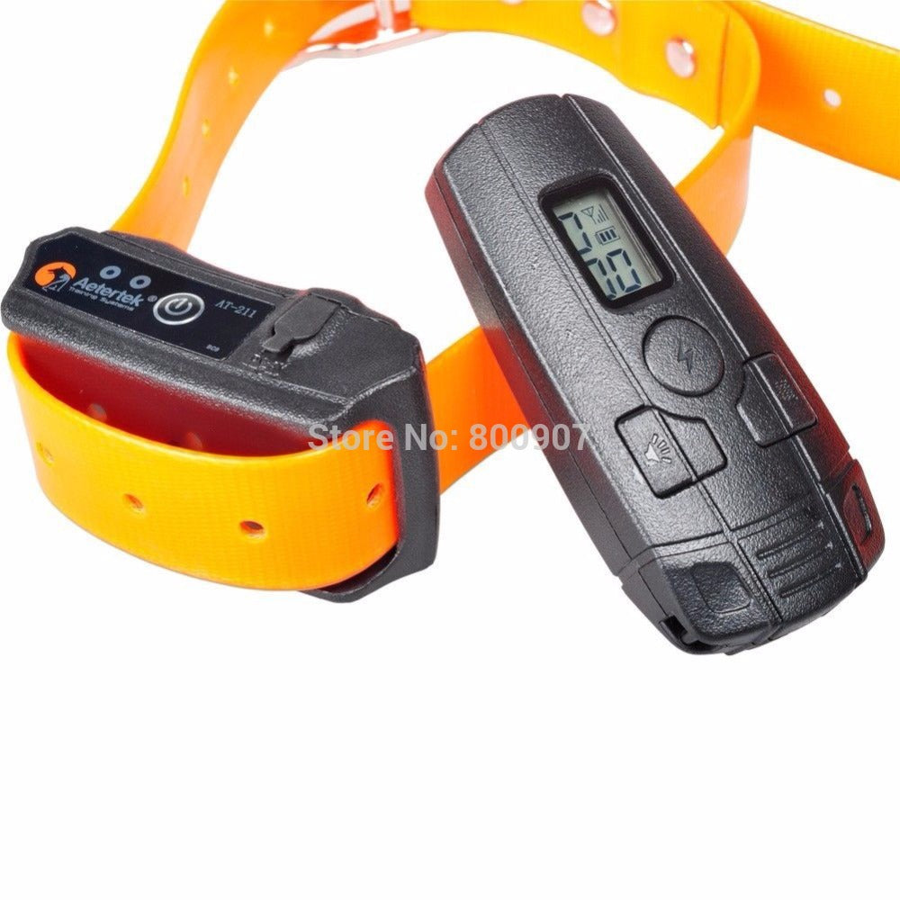 350M Rechargeable Waterproof Electric Shock No bark Stop Dog Training Collar Pet Trainer For Small Dog/Cat