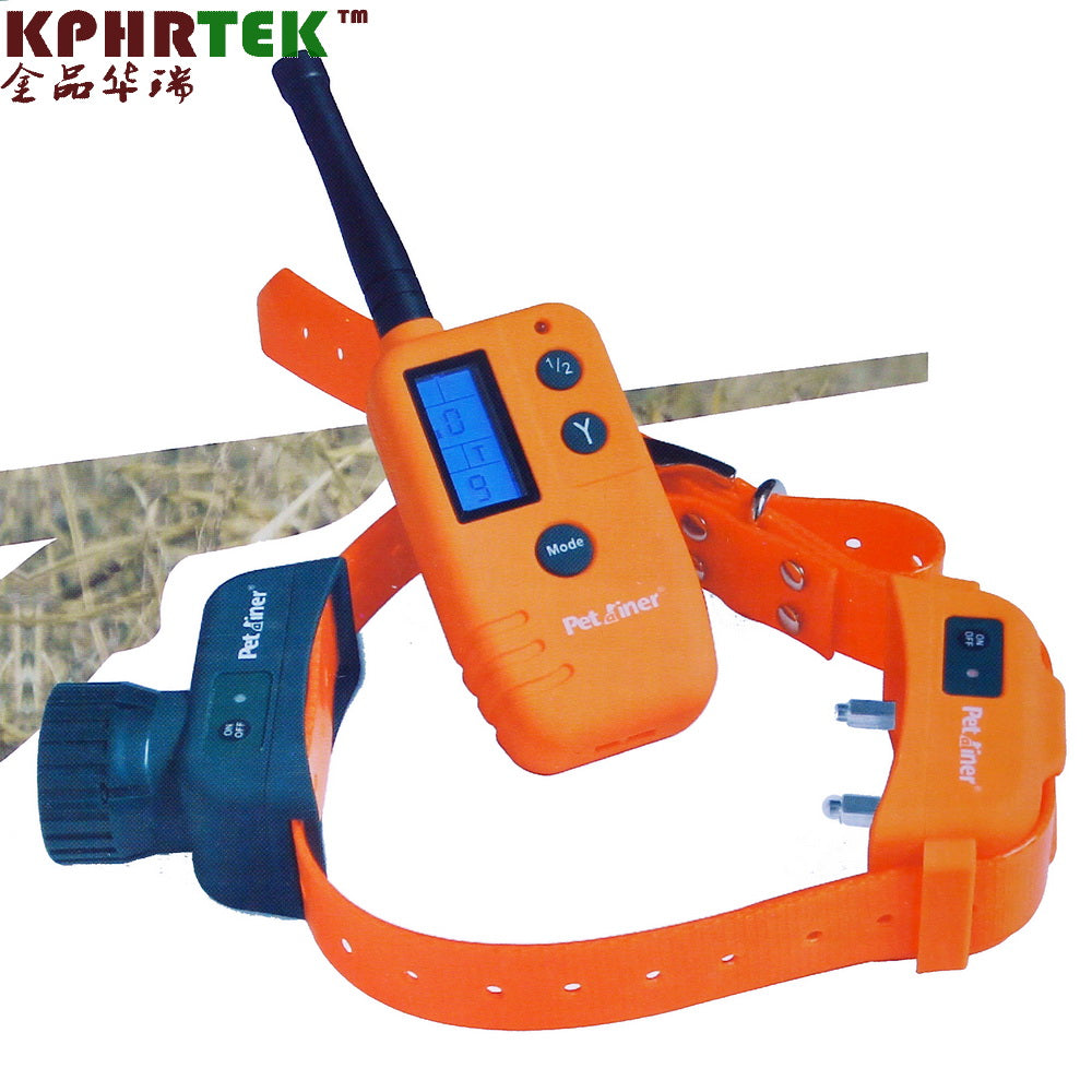 3Sets Remote Training and Beeper Dog Shock Collar and Vibrating Training Collar PET910 Waterproof Rechargeable Hunter Collar