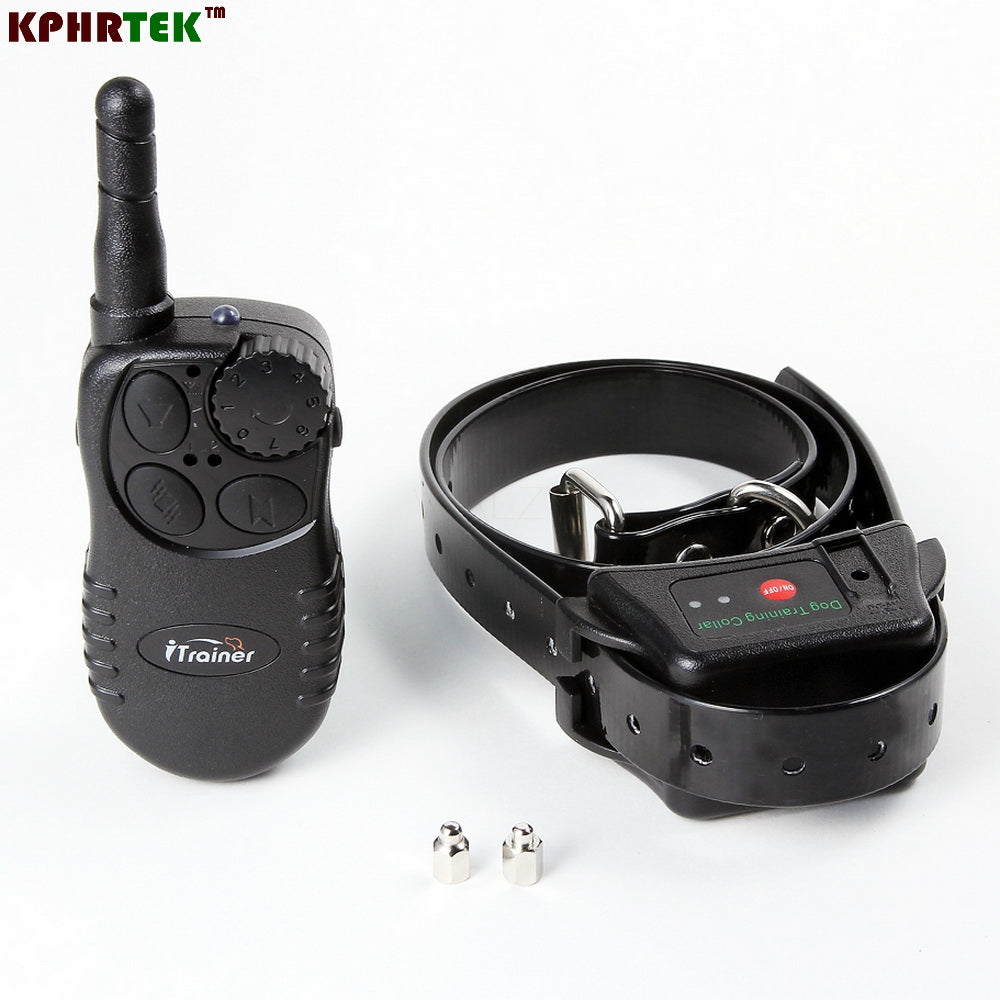 40pcs Dog Training Collar i728  Rechargeable And Diving Swimming Waterproof  Shock + Vibra  350 Meters Remote Control Collar