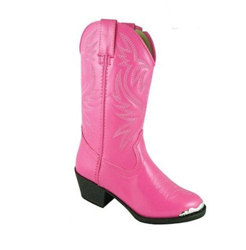 Smoky Mountain Kids Western Mesquite Boots - Hot Pink Child 11.5