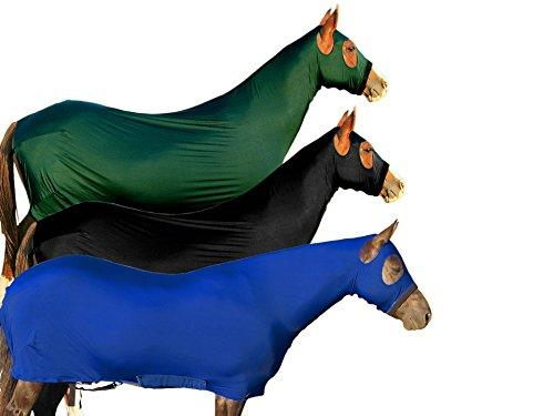 Derby Originals Lycra Full Body Horse Sheets with Neck Cover, Royal Blue, X-Large