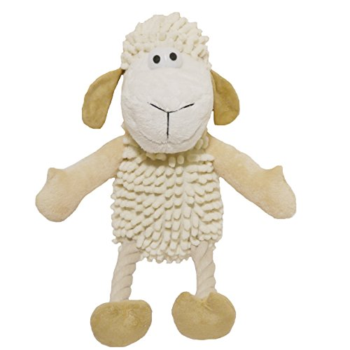 Jolly Doggy Farmyard Sheep Dog Plush Toy