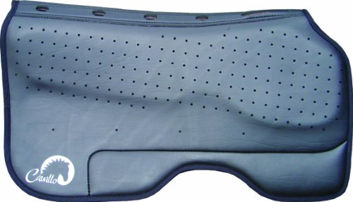 Cavallo Horse & Rider Western Built-Up Performance Enhanced Saddle Pad