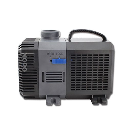 ZOIC Water Submersible Aquarium Pump, 80W,2641 GPH, 110 Volts, 16 Foot  Power Cord, Fish Tanks,Garden Pool Fountain Pumps