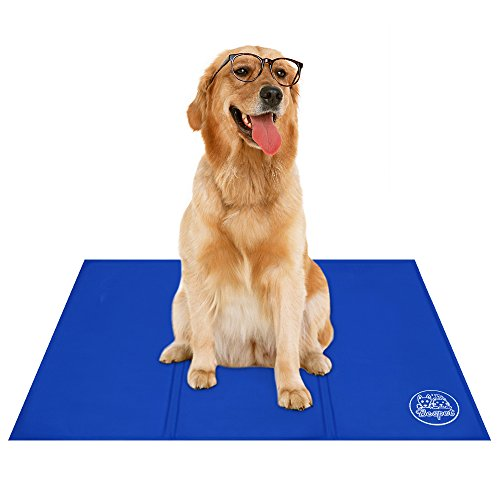 Faciab Cooling Mat , Pet Self cooling pad , Comfort for Cats and Dogs (Large)