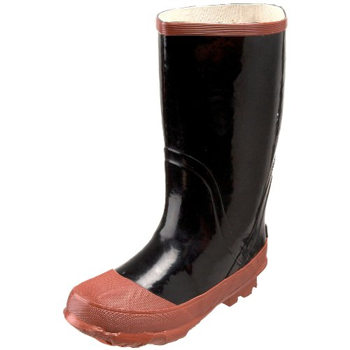 Northside Navajo Jr Rain Boot (Toddler/Little kId/Big Kid),Black,7 M US Big Kid
