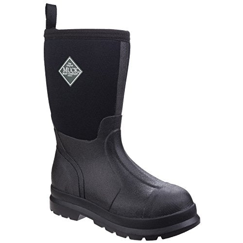 Muck Boot Childrens/Kids Chore Wellington Boots (2 US) (Black)