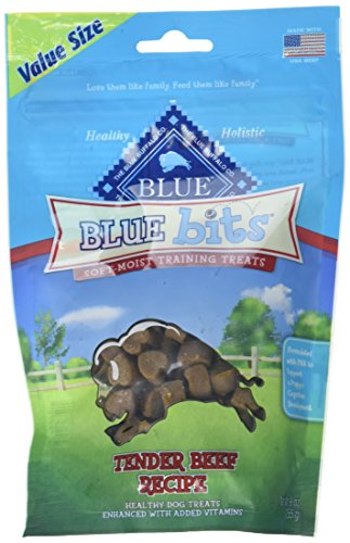 BLUE Beef Bits Soft-Moist Dog Training Treats (1 Pouch), 9 oz