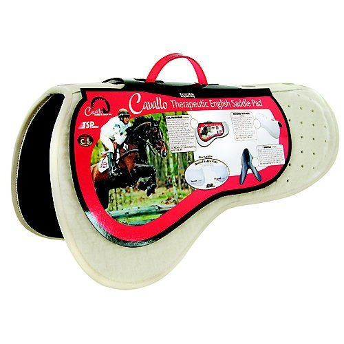Cavallo Horse & Rider English All Purpose Performance Enhanced Saddle Pad by Cavallo Horse & Rider