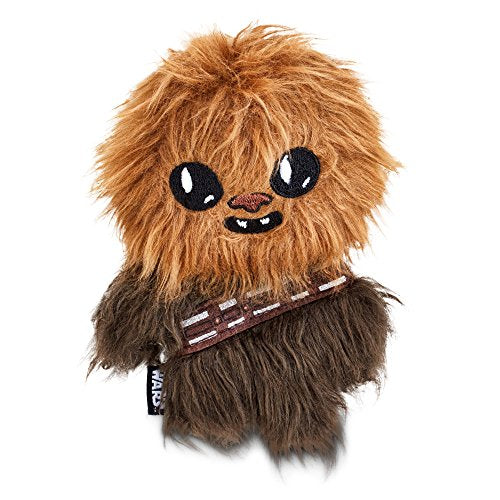 STAR WARS Chewbacca Flattie Dog Toy, 6 L by Petco