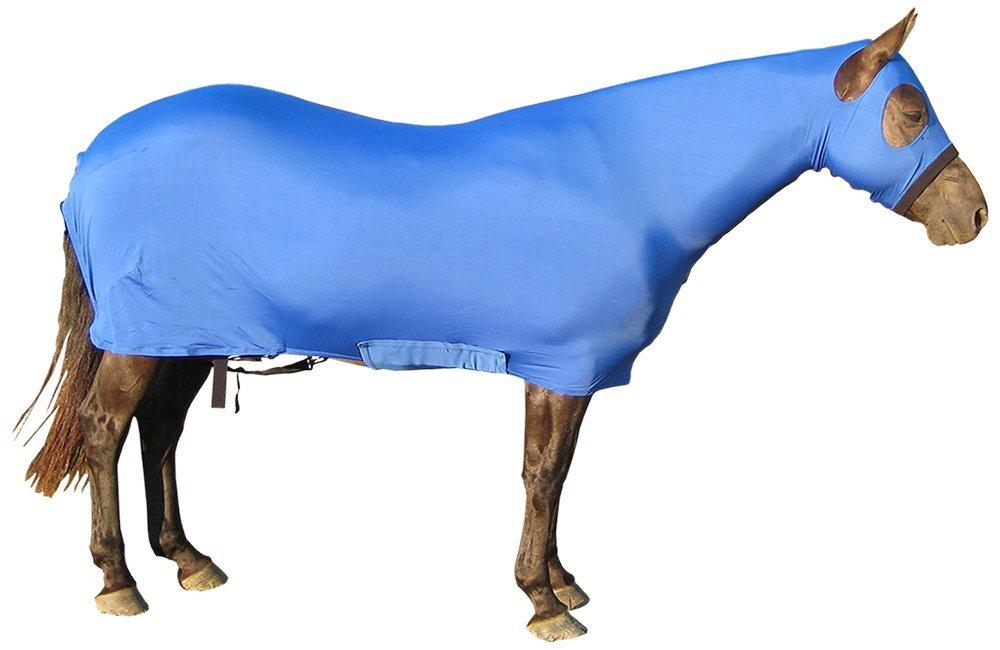 Derby Originals Lycra Full Body Horse Sheets with Neck Cover, Royal Blue, Small