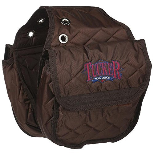 Tucker Insulated Saddle Bags Brown