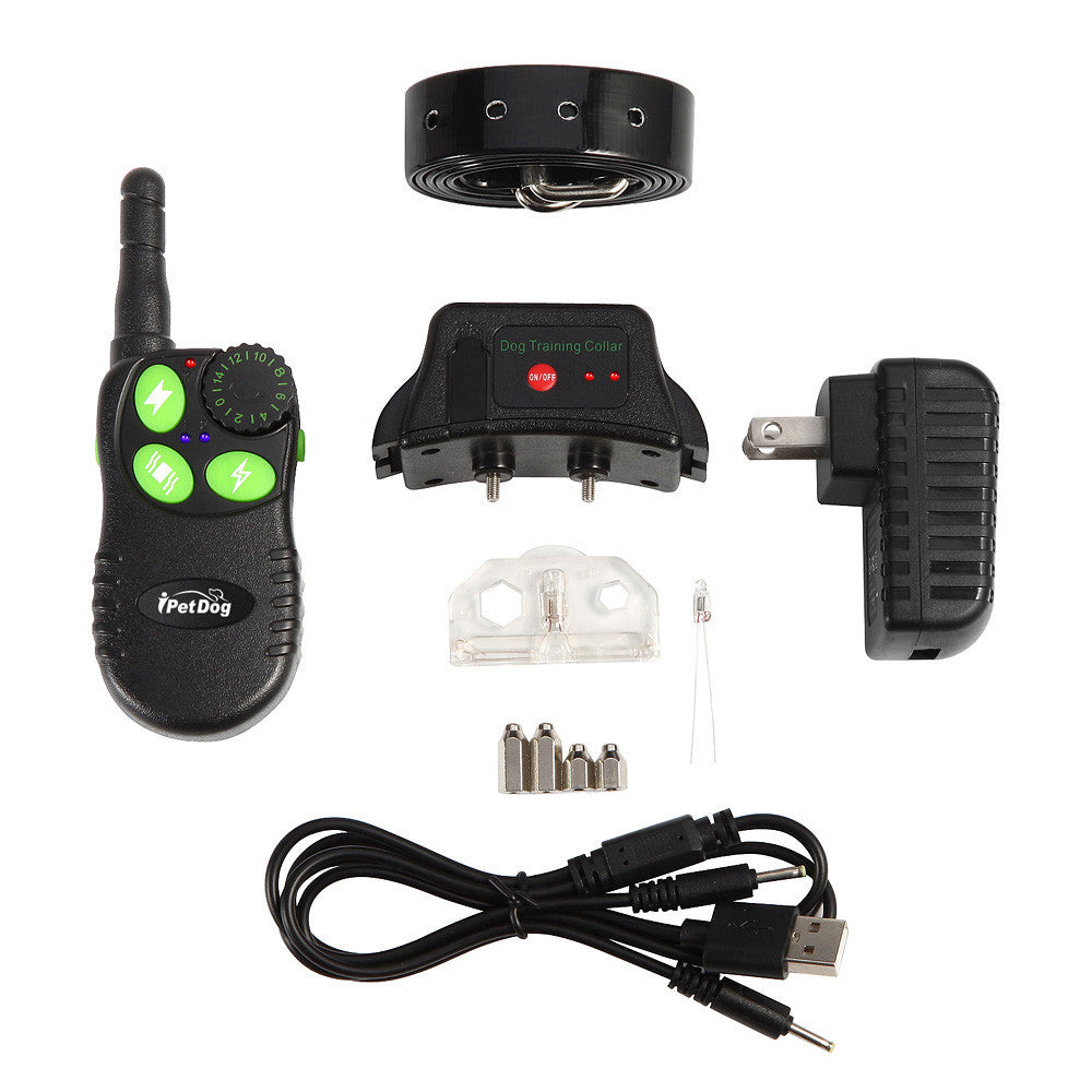 550M Electronic Remote Control Dog Training Collar Ultrasonic Dog Repeller with Green Button Anti Bark Whistle Shock Collar,,KeeboVet Veterinary Ultrasound Equipment,KeeboVet Veterinary Ultrasound Equipment.