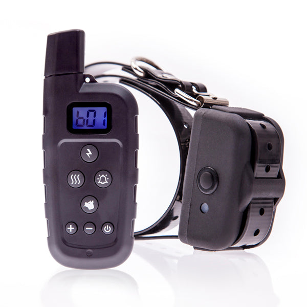 600 Yard Remote Dog Training Shock Collar Classic Dog Trainer Water-resistant Bark Collar