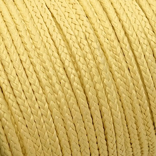 emma kites 100~2000lb Braided Kevlar String Utility Cord Mason Line for Kite Bridle Fishing Camping Packing Creative Projects (Lengths/Strengths Options)