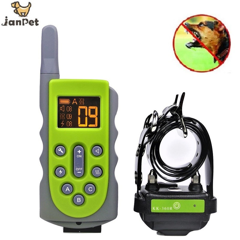 650yd Remote Dog Training Collar Obedience Trainer Waterproof Collar 10 Level of Static Shock,Beep Tone/Vibration For 1/2/3 Dogs