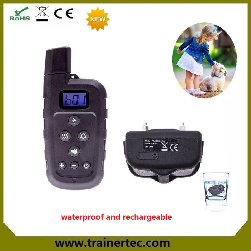 657 yards dog training for Large / Medium / Small Dogs Swimming Training Electronic Shock Collar with Beep / Vibrate / Shock