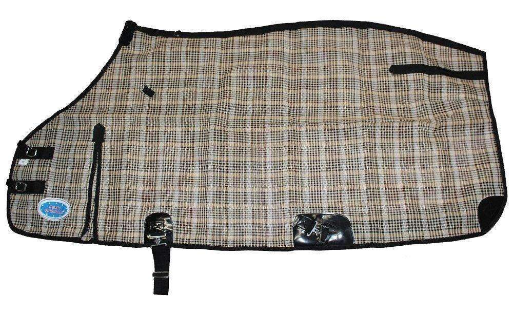 Derby Originals Super Tough Horse Fly Sheets Black/Beige Plaid,,KeeboVet Veterinary Ultrasound Equipment,KeeboVet Veterinary Ultrasound Equipment.