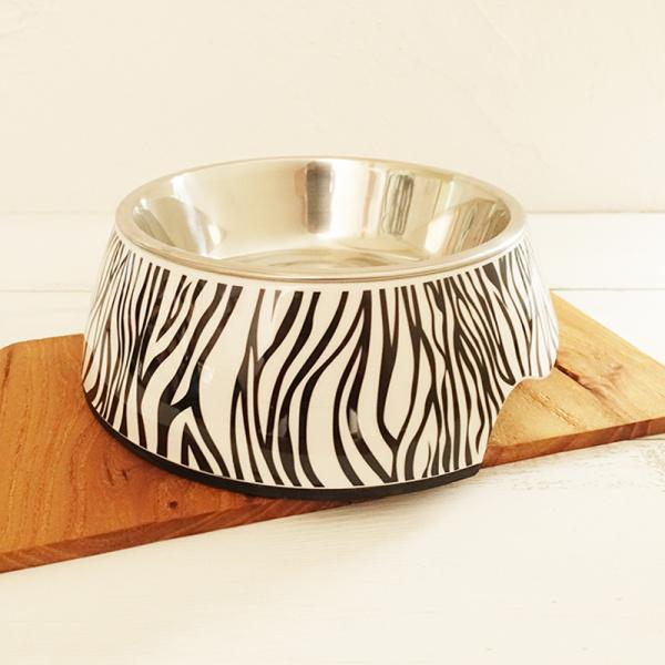 72pcs/lot S size high quality detachable antiskid Stainless steel Melamine pet water food dog bowl