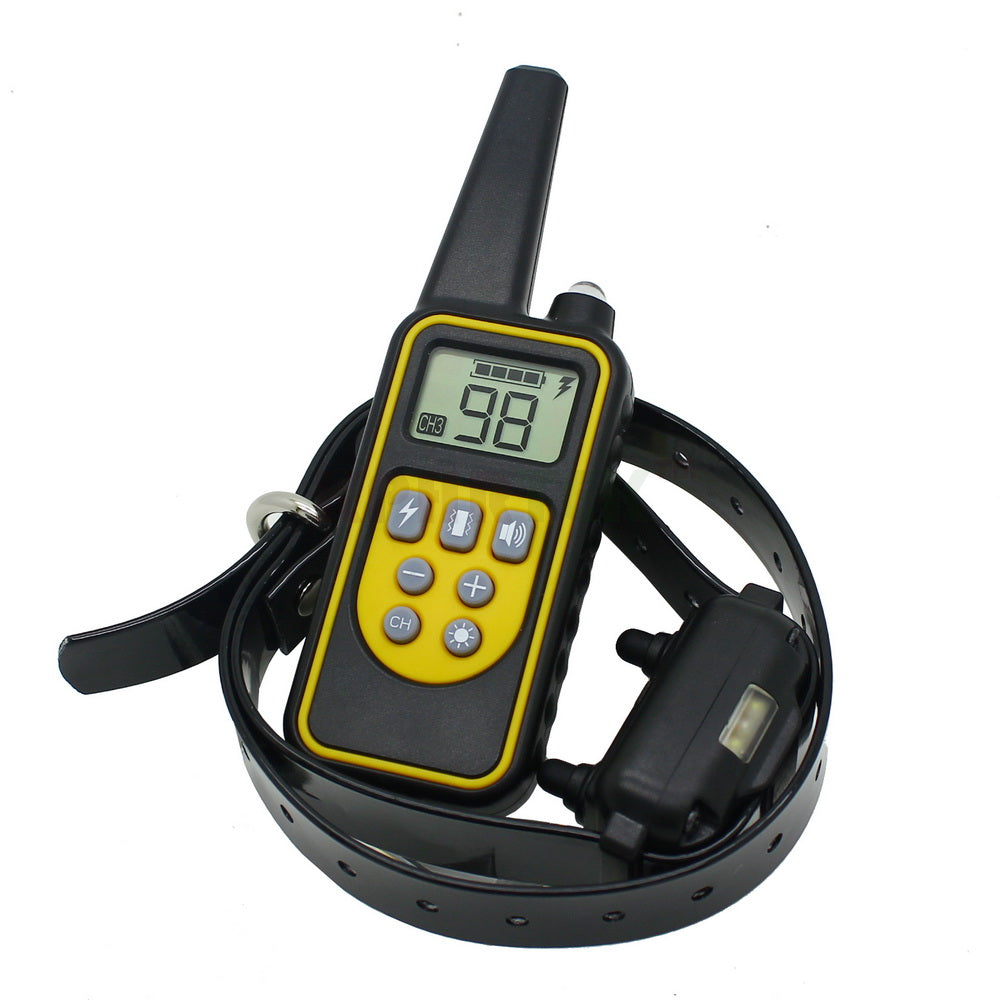 800 meters Remote Dog Training Collar Rechargeable and waterproof KPHRTEK KP-DT01 Electronic Dog Training System Support 3 Dogs