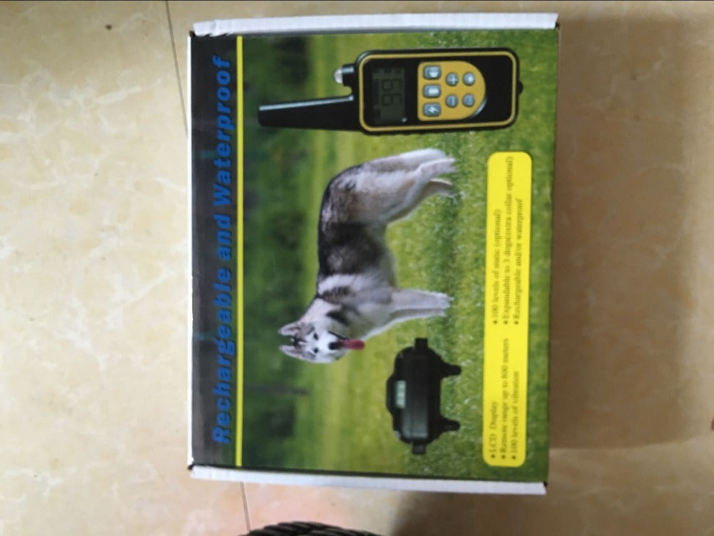 800m Remote Dog Training Collar Rechargeable and waterproof  Electronic Dog Training System can  Support 3 Dogs