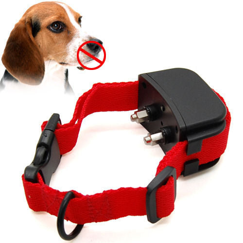 8pcs Retail Pack Rechargeable Waterproof Electric Shock Sound Anti Bark dog training collars sensitivity adjustable BT-6
