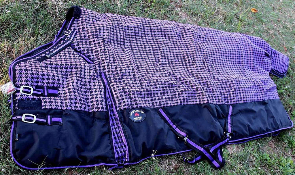 "72"" 1200D Turnout Waterproof Horse WINTER BLANKET HEAVY WEIGHT Purple 525G,,KeeboVet Veterinary Ultrasound Equipment,KeeboVet Veterinary Ultrasound Equipment."