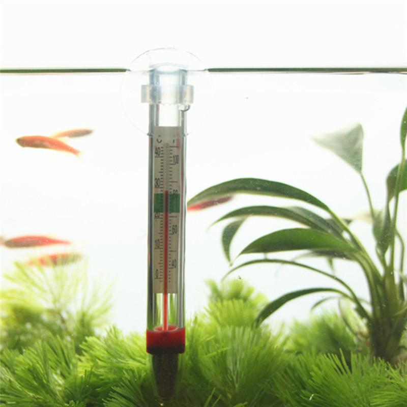 Abedoe glass aquarium thermometer fish tank water for Fish tank temperature