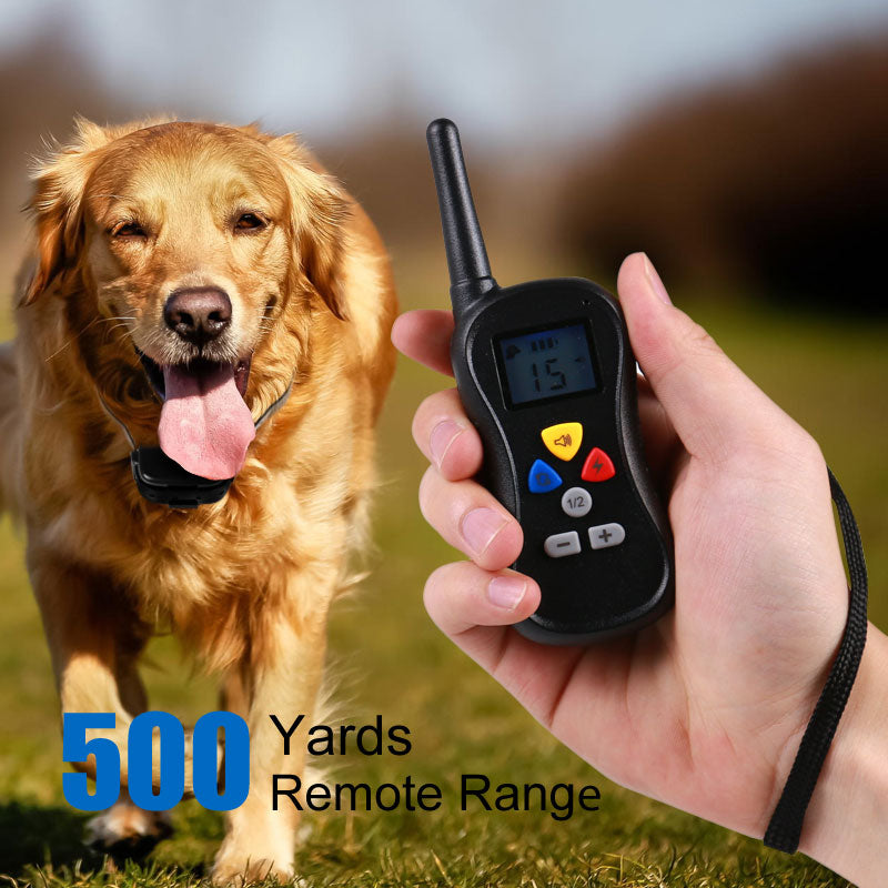 Advanced Automatic Dog training collars anti bark collar remote control dog training collar personalized basic collars