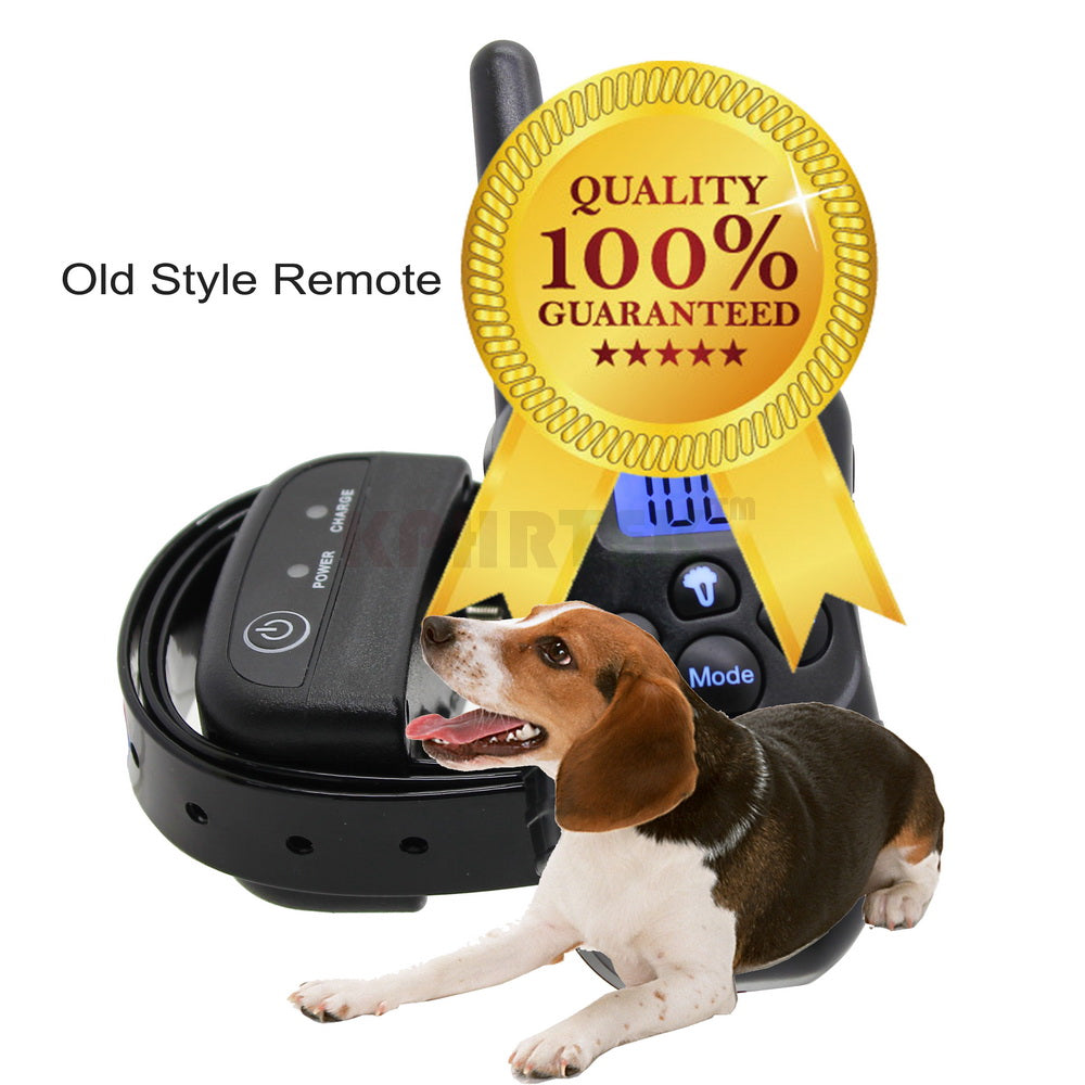 Backlight Submersible Remote Control Smart Dog Training Collar Rechargeable Waterproof Pet Trainer For 1 Dog