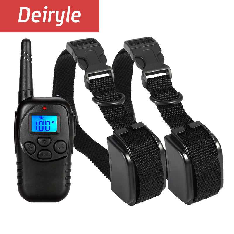 DEIRYLE Dog Training Collar with Remote 330 Yards Pet Training Electric collar for Dog with Beep/Vibration/Shock Collar