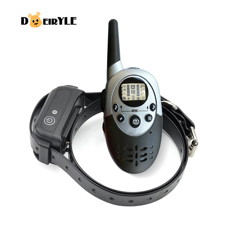 DEIRYLE New Rechargeable 1000m Remote Control Dog Training Collar, Shock Collar Dog Electric Collars